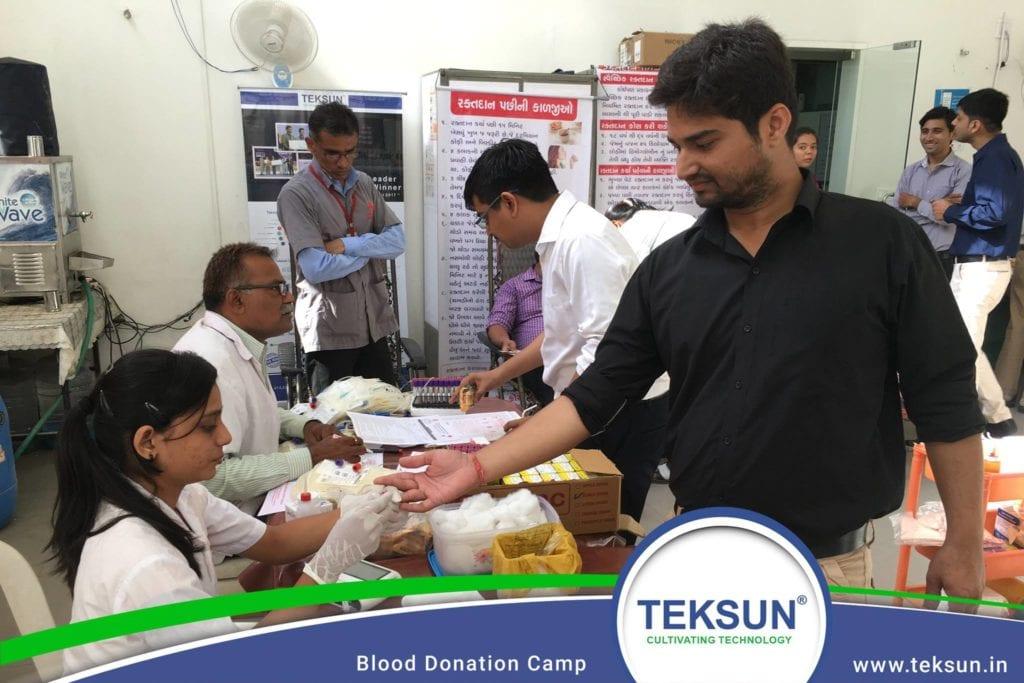 Teksun - Blood Donation Camp