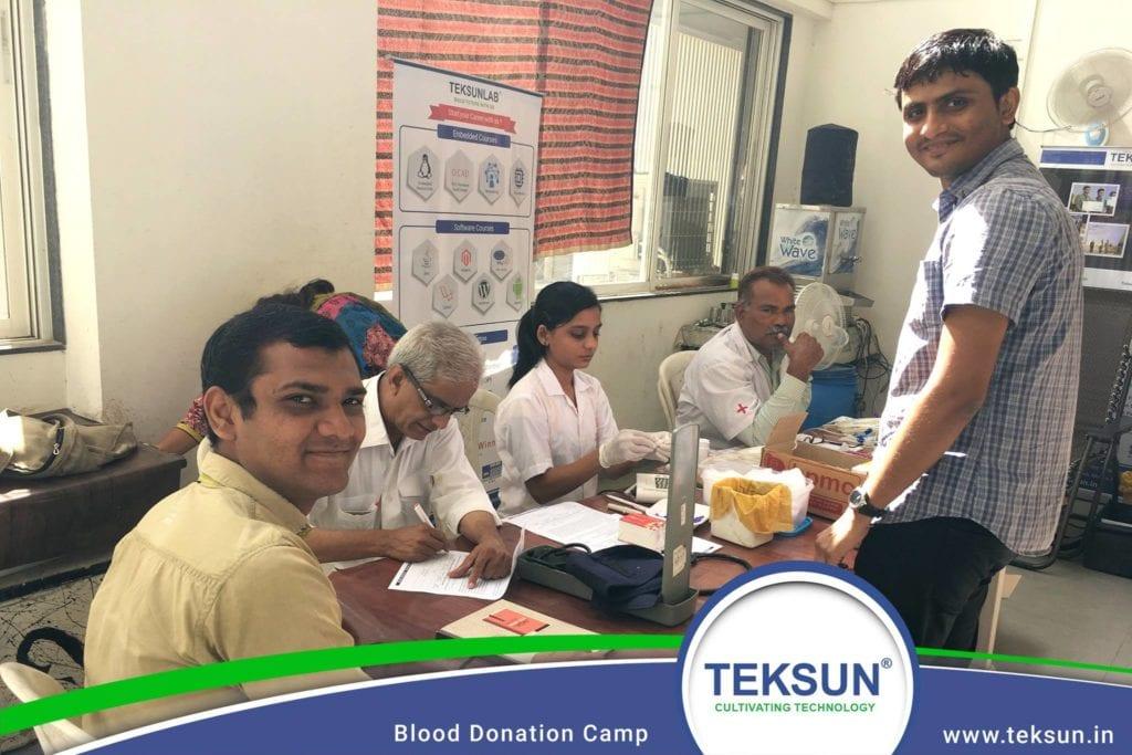 Blood Donation Camp - Life at Teksun
