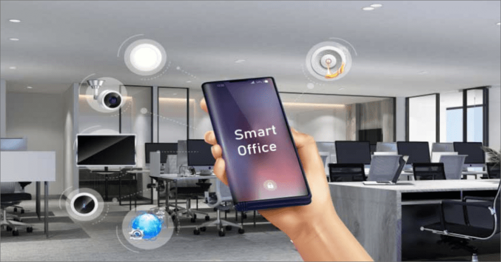 IoT in Workplace:Smart Office Automation for better Productivity